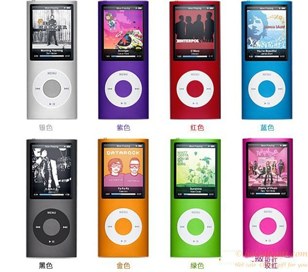 Optional Multi Color 1 8 Inch Mp4 Player Apple Card Hot