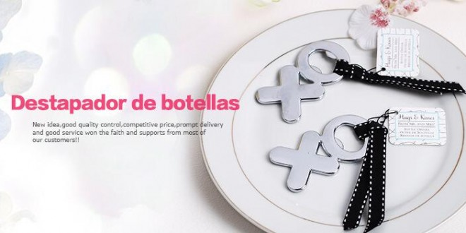 creative wedding gifts xo design beer bottle opener hot. Black Bedroom Furniture Sets. Home Design Ideas