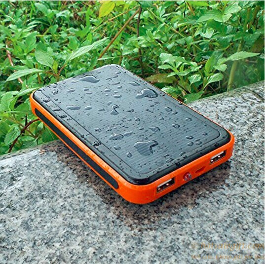 Dual Usb Universal Portable Solar Battery Charger 10000mah