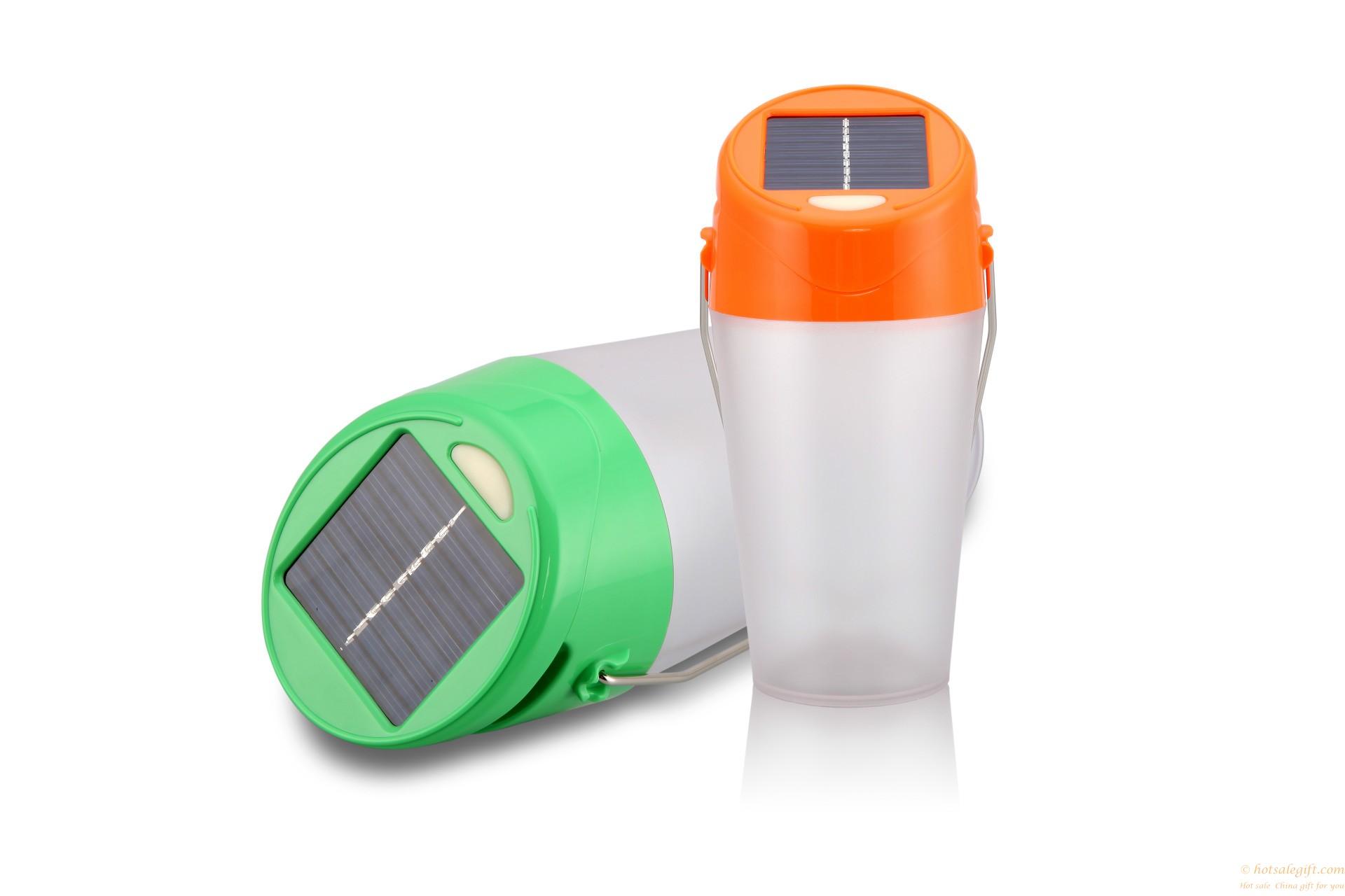 Outdoor Waterproof Drop Resistance Solar Camping Lamp
