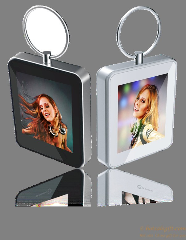 1.5 inch keychain digital photo frame / mini electronic album ...