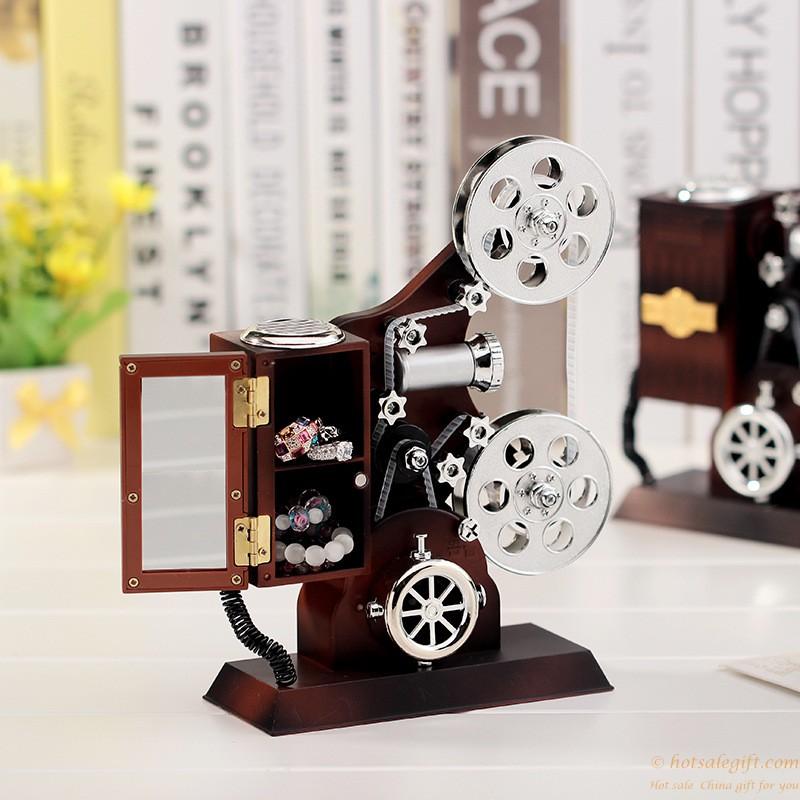 کادو ساعت پروژکتور خلاق جعبه طراحی موسیقی | هدیه فروش داغ
