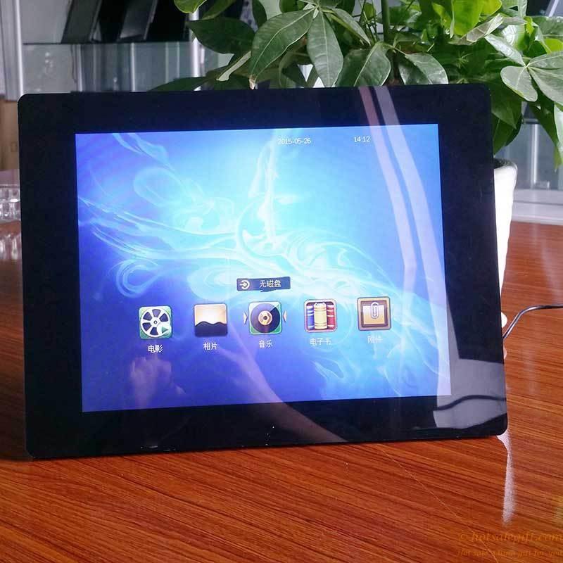 12-inch glossy LED screen high-definition digital photo frame   Hot ...