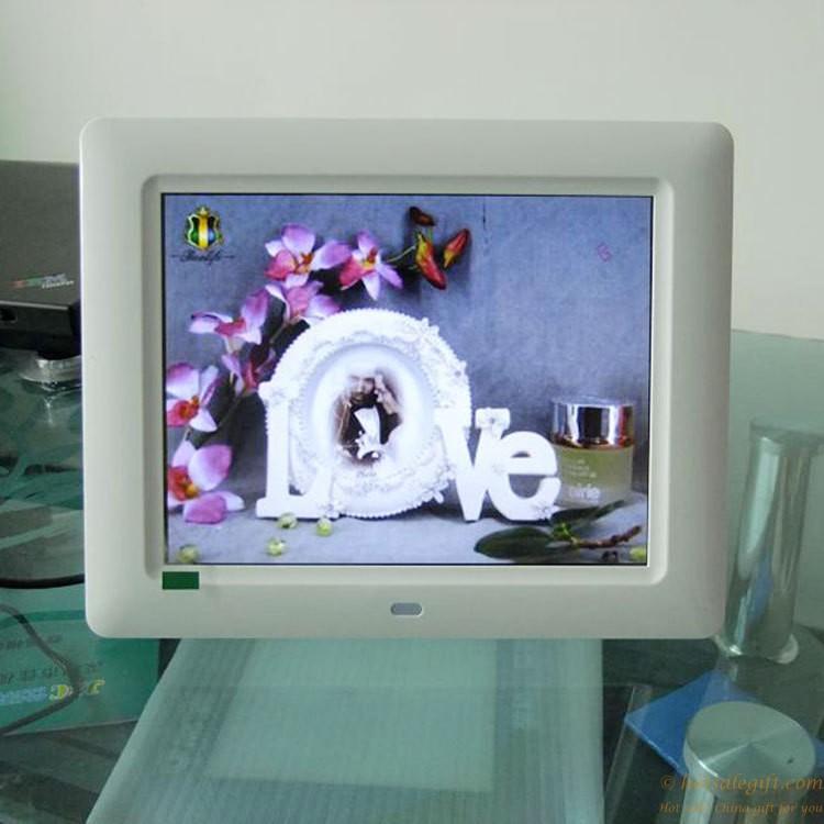 8 pulgadas de fotos digital de alta definición publicidad del ...