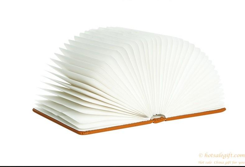 Creative Led Lamp Folding Flip Books Usb Nightlight Hot