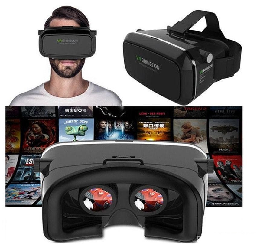 e254acc8f984 VR BOX Headset Virtual Reality 3D Glasses Helmet For iPhone Samsung Sony  phones