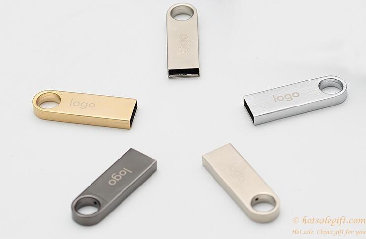 Metal USB2.0 Flash Memory Drive Storage logo customizable ...