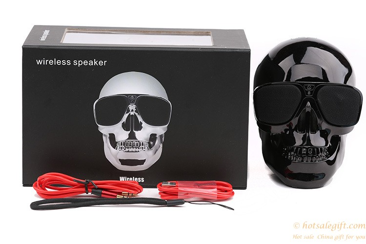 Creative Wireless Bluetooth Speaker Skull Subwoofer Nfc
