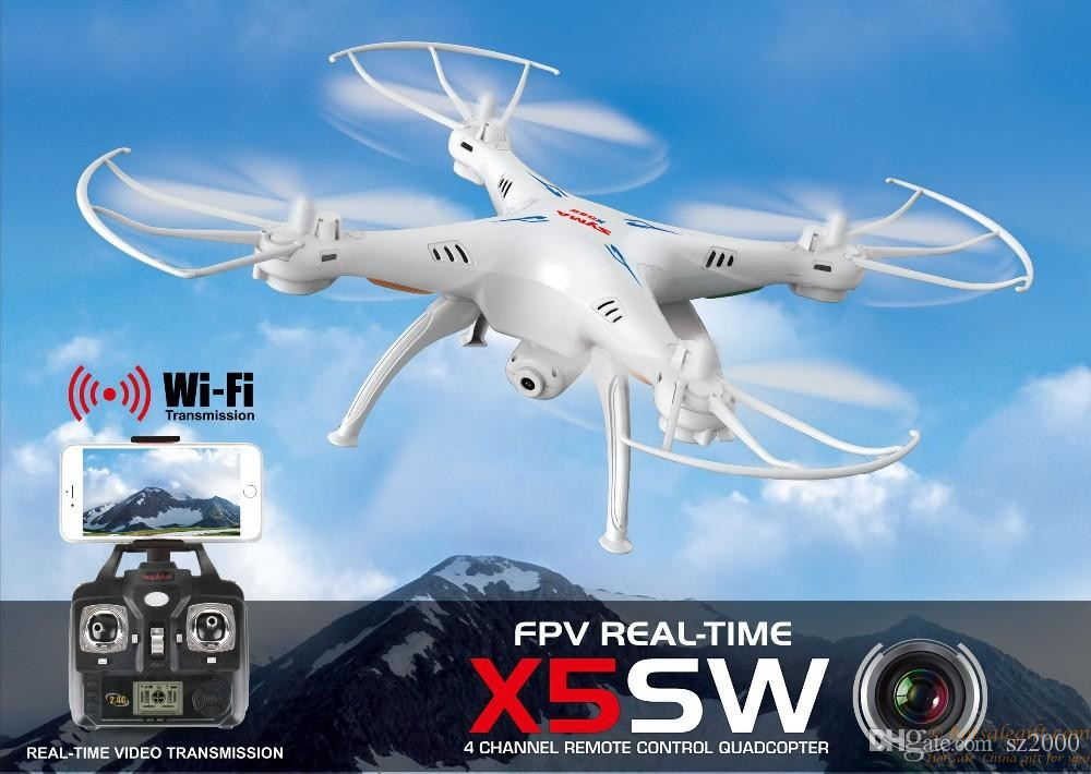 Syma Original X5sw Drones Quadcopter With Hd Camera Wifi
