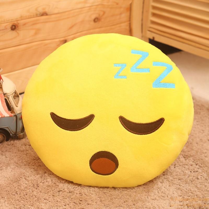 Funny Design Wholesale Wechat Emoticon Cushion Emoji