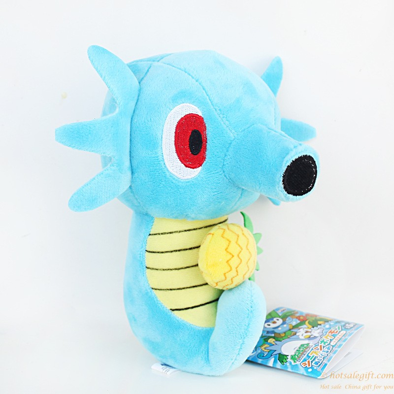 Hot sale creative design pokemon Horsea plush toy doll ...