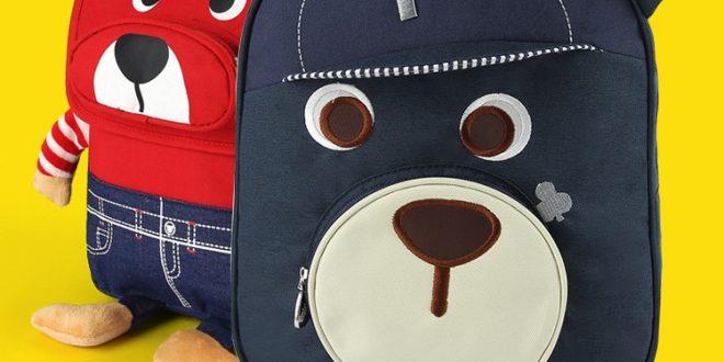 Roztomilý medvěd vzor kreslený děti aktovka | Hot Prodej Gift