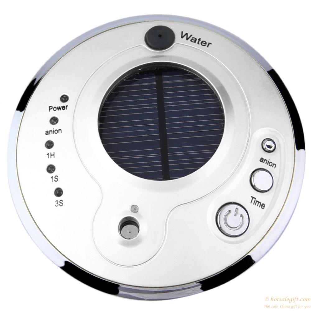 Solar Anion Humidifier Car Air Purifier Anion Humidifier