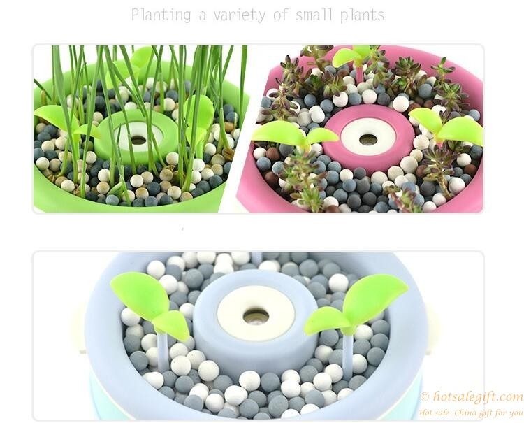 Anion Potting Plant Usb Mini Air Humidifier Aromatherapy