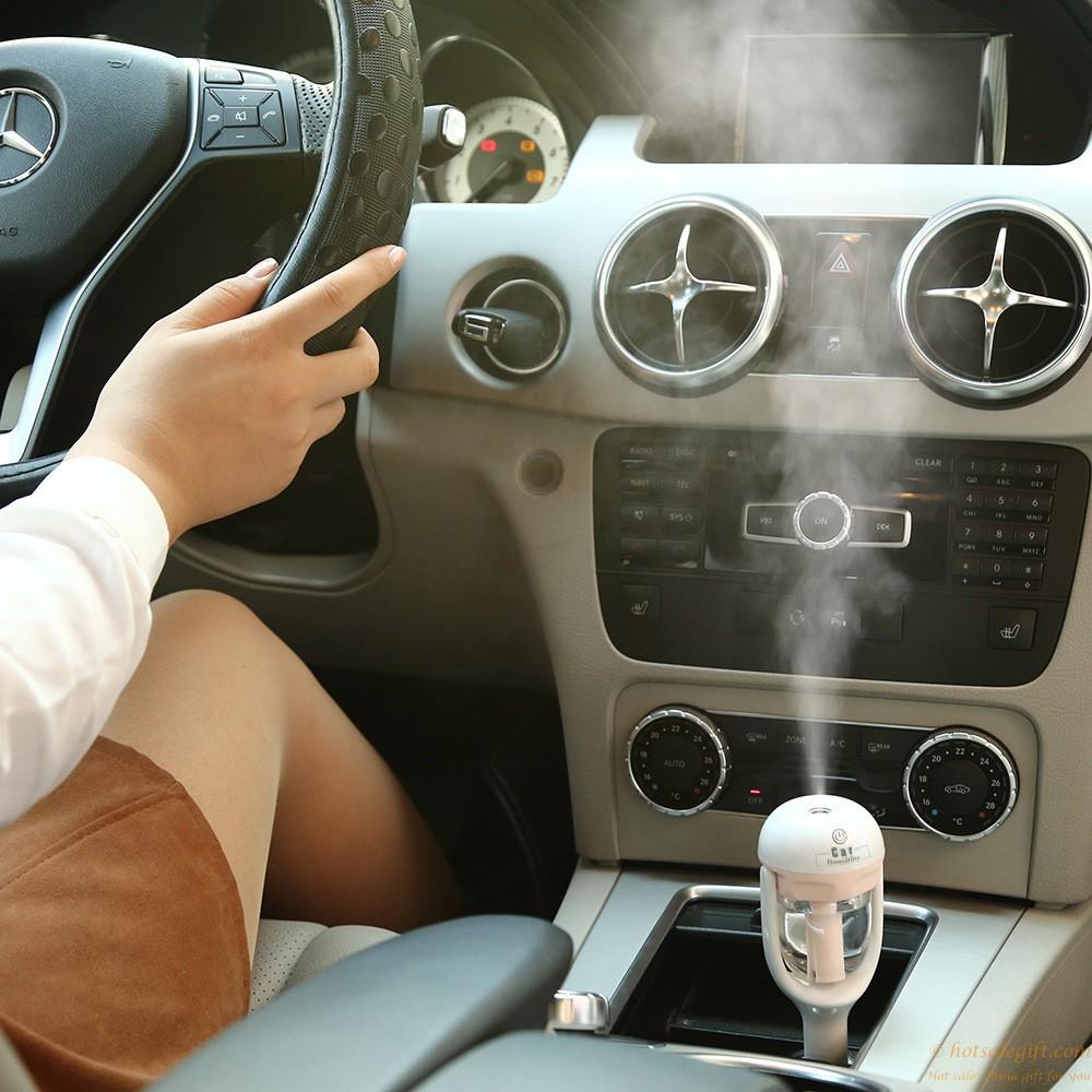 Mini Usb Humidifier Ultrasonic Aroma Diffuser Car