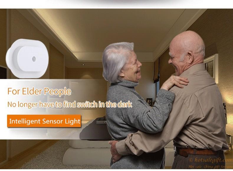 Human Sensor Led Night Lights Wireless Motion Light Sensor