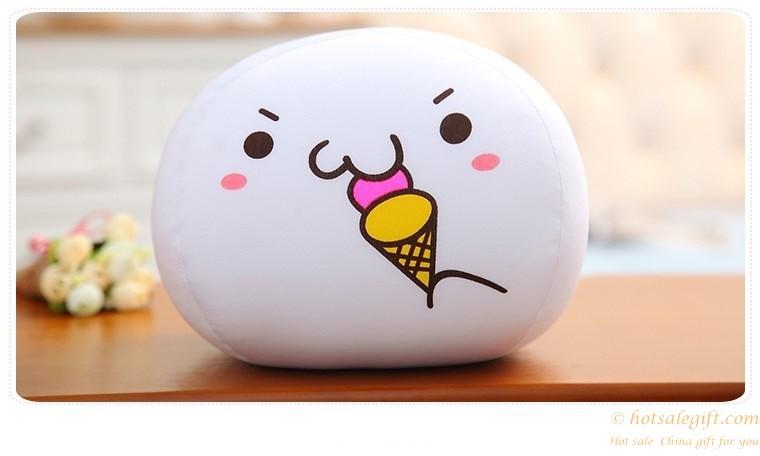 hotsalegift super kawaii emoji lovely soft plush ball pillow kids