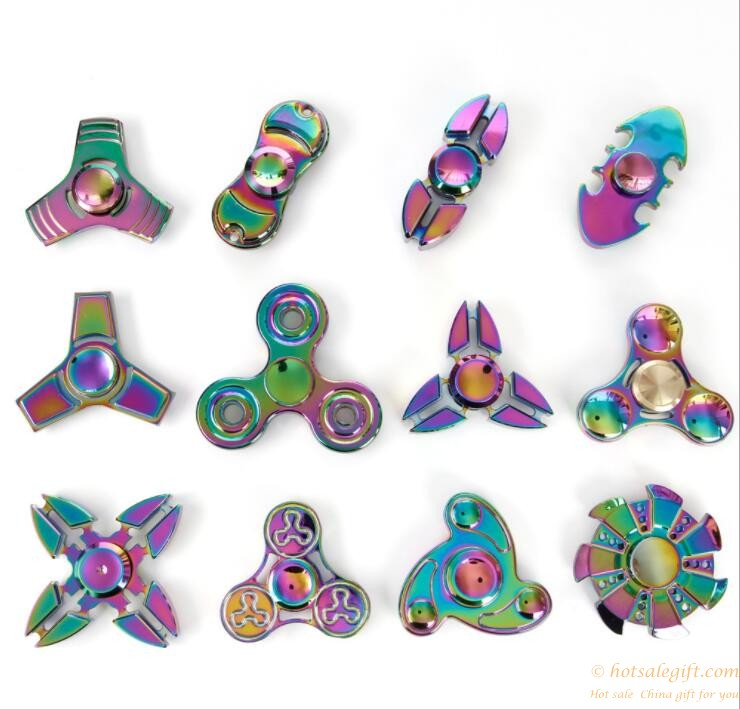 Colorful cheap price rainbow color spinner fidget spinner toys | Hot Sale Gift