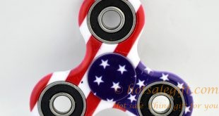 48 PCS !!! NEW 2017 Durable High Speed American Flag Fidget Spinners Toy