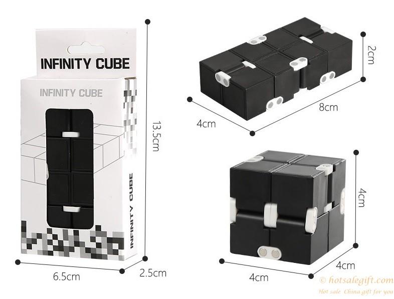 infinity cube. hotsalegift brand abs plastic infinity cube stress relief fidget 10